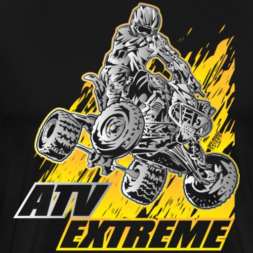 ATV Quad Extreme Blast - Men's Premium T-Shirt