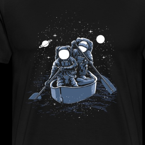 Across The Galaxy Astronauts - Men's Premium T-Shirt
