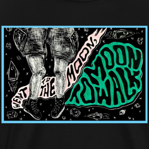 Moon Walking - Men's Premium T-Shirt