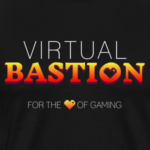 Virtual Bastion: For the Love of Gaming - Men's Premium T-Shirt