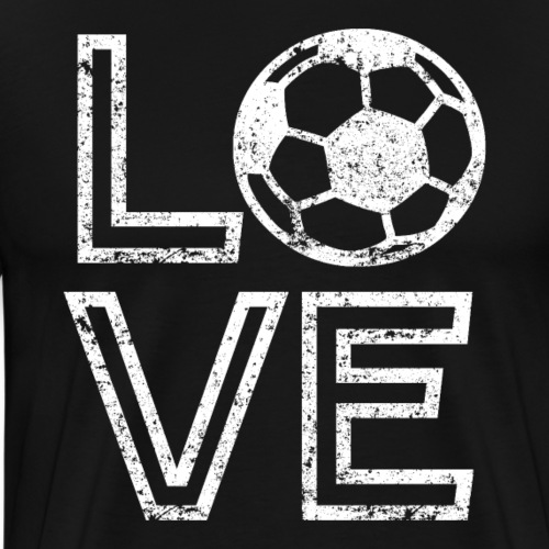 I Love Soccer - Men's Premium T-Shirt