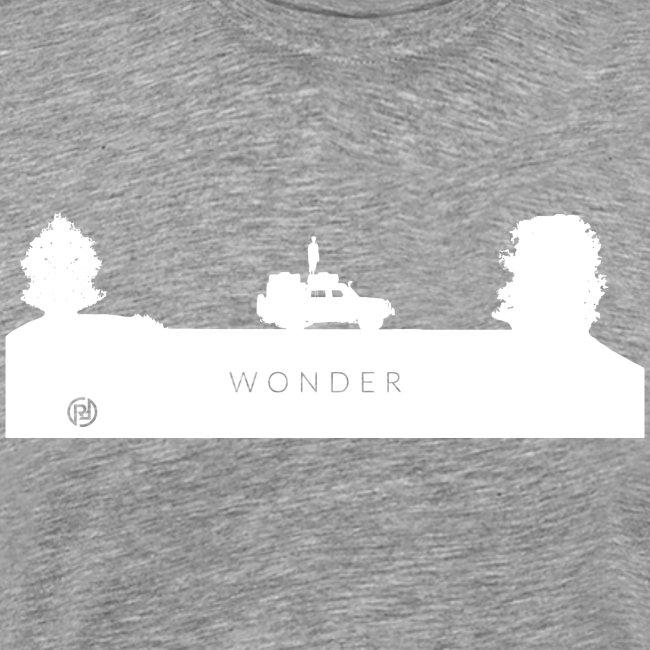 Wonder Logo White