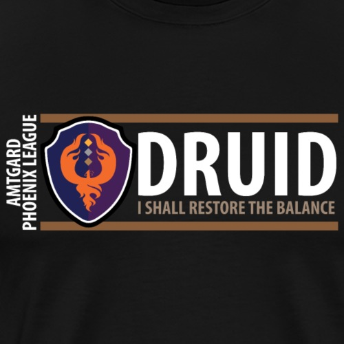 Shield Series: Druid Balance - Men's Premium T-Shirt