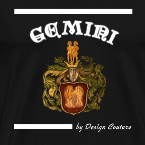 GEMINI WHITE - Men's Premium T-Shirt