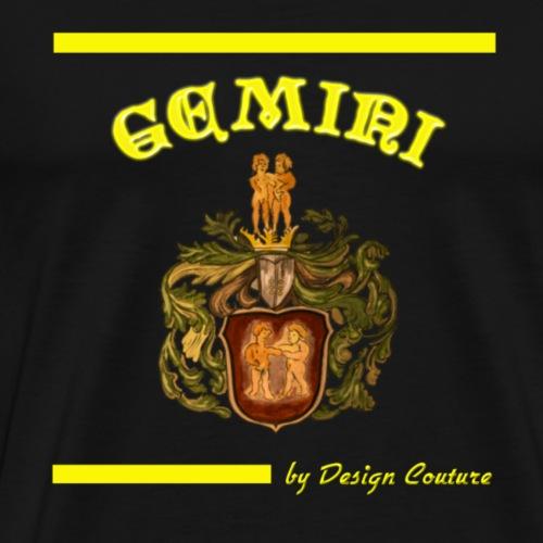 GEMINI YELLOW - Men's Premium T-Shirt