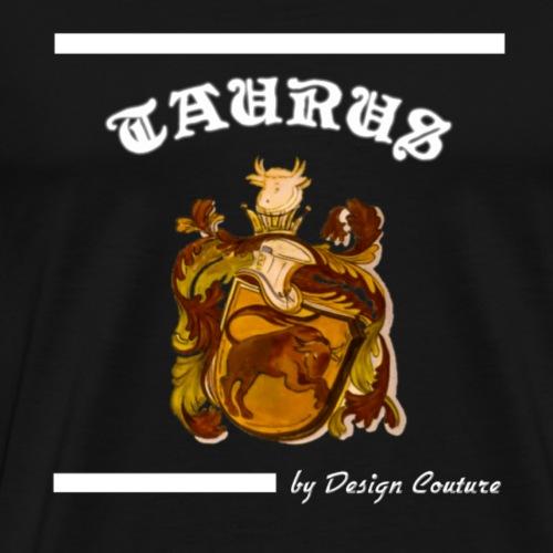 TAURUS WHITE - Men's Premium T-Shirt
