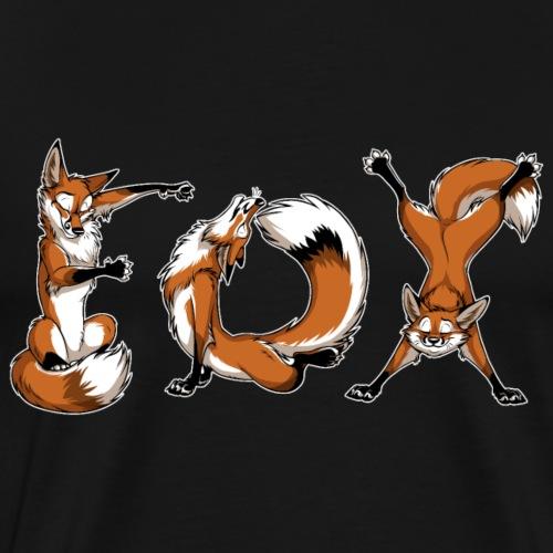 YOGA Foxes - Men's Premium T-Shirt
