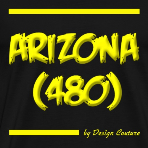 ARIZON 480 YELLOW - Men's Premium T-Shirt