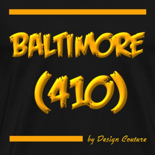 BALTIMORE 410 ORANGE - Men's Premium T-Shirt