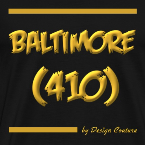 BALTIMORE 410 GOLD - Men's Premium T-Shirt