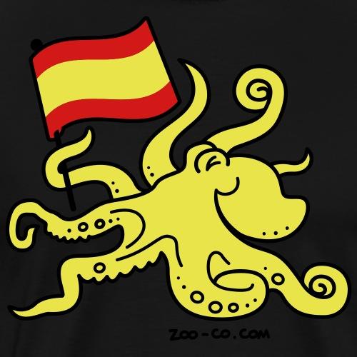 Paul the Octopus is Spanish! - Men's Premium T-Shirt