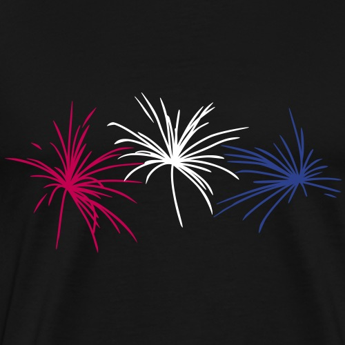 Fireworks New Year's Eve - Men's Premium T-Shirt