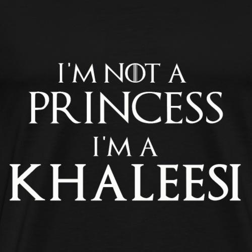 I'm not a princess - Men's Premium T-Shirt
