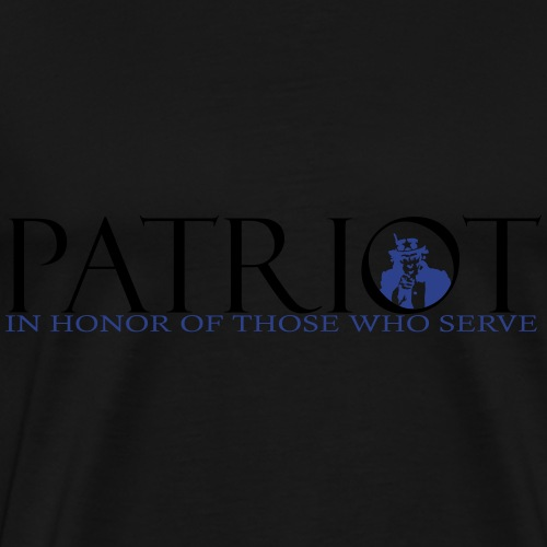 PATRIOT_SAM_USA_LOGO - Men's Premium T-Shirt