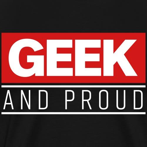 Marvelous Geek and Proud - Men's Premium T-Shirt