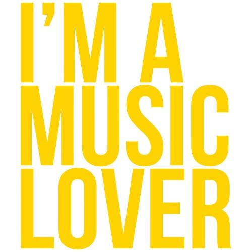 Music Lover big - Men's Premium T-Shirt
