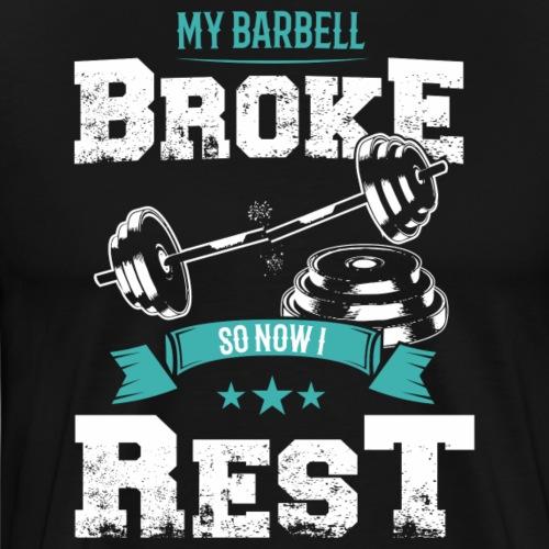 Barbell se rompió