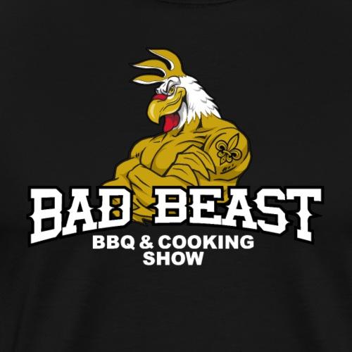 Original Bad Beast Barbecue Logo - Men's Premium T-Shirt