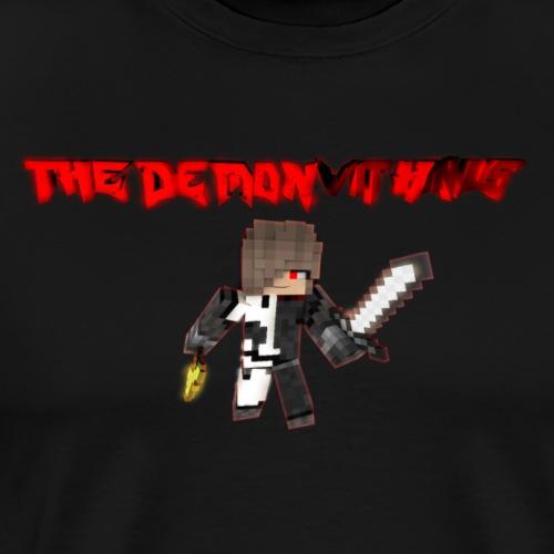 The Demon Within Series Val/Raven Image - Men's Premium T-Shirt