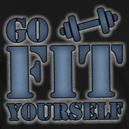 Go Fit Yourself ATS - Men's Premium T-Shirt