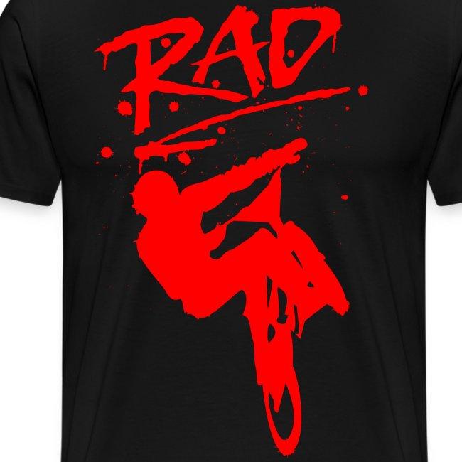 RAD BMX Bike Grafitti 80s Movie Radical T shirts
