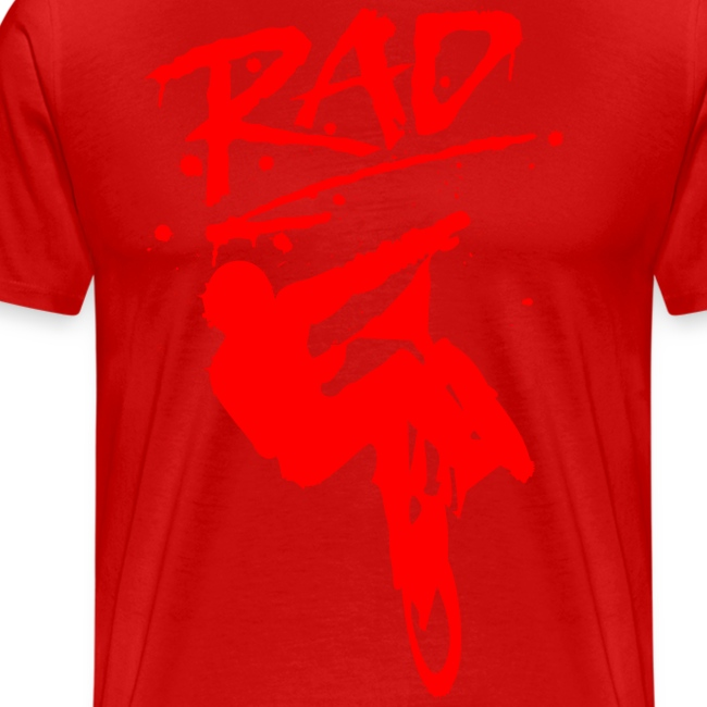 RAD BMX Bike Grafitti 80s Movie Radical T shirts