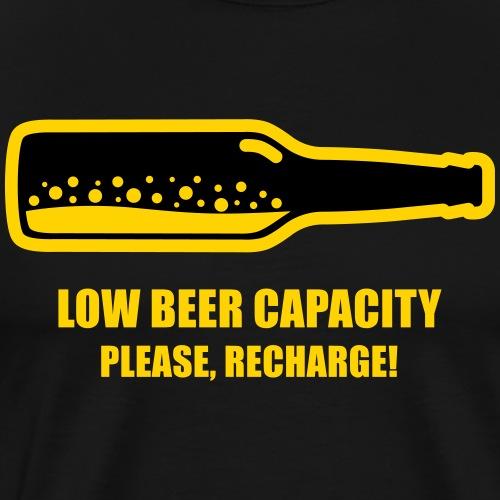 Low Beer Capacity 2 - Men's Premium T-Shirt