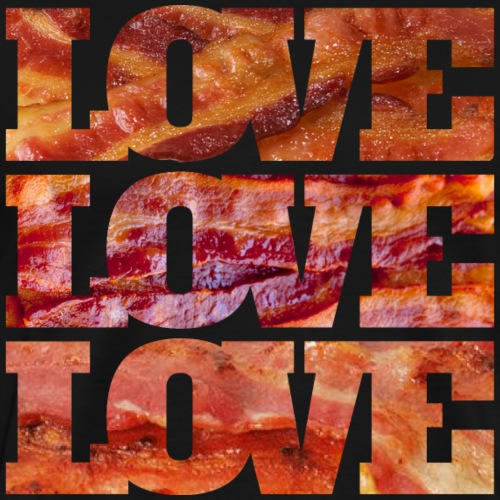 BACON LOVE - Men's Premium T-Shirt