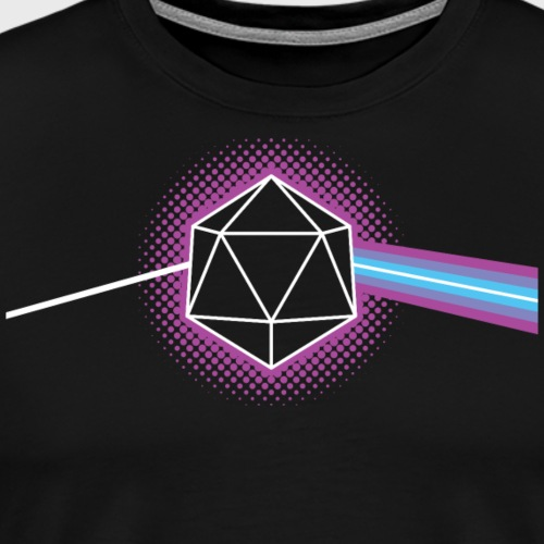 Dungeons and Dragons d20 - Men's Premium T-Shirt