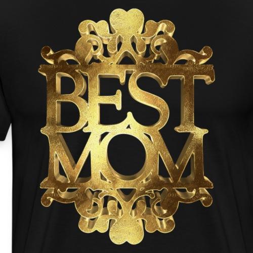 My Mom Best Mom Golden