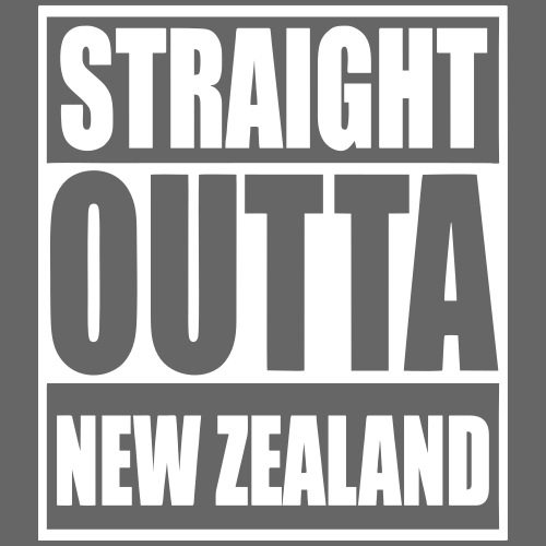 straight outta nz officia - Men's Premium T-Shirt