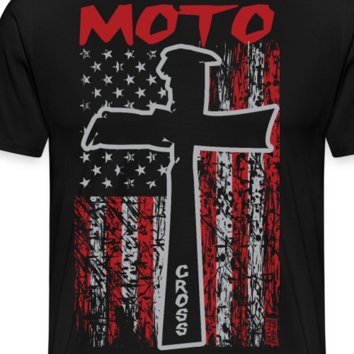 Motocross Christian - Men's Premium T-Shirt