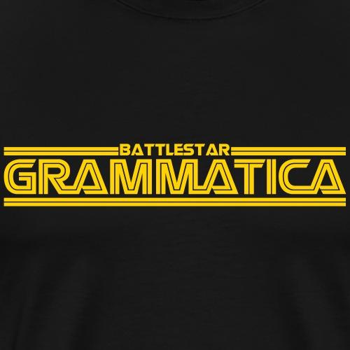 Battlestar Grammatica - Men's Premium T-Shirt