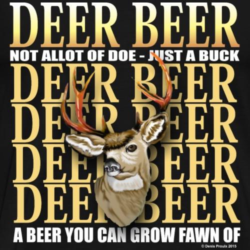 Deer Beer - Men's Premium T-Shirt
