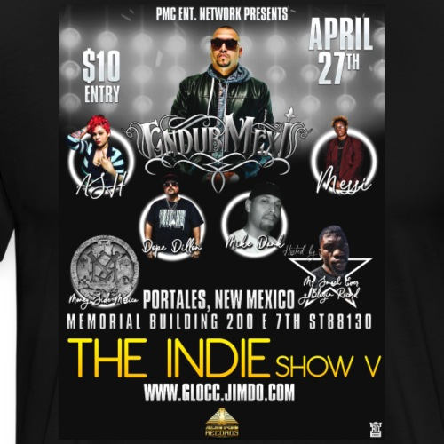 The Indie Show V Merch! - Men's Premium T-Shirt