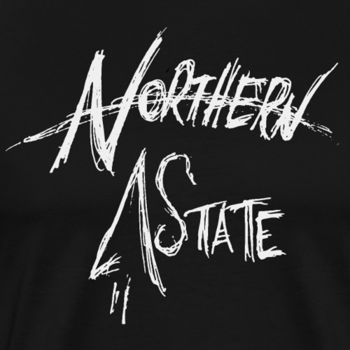 Northern State Rough Hand Lettering - Men's Premium T-Shirt