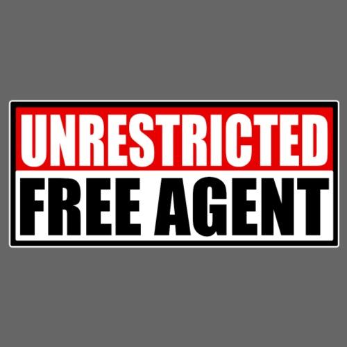 FREE AGENT - Men's Premium T-Shirt