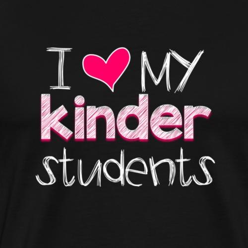 love my kinders png - Men's Premium T-Shirt