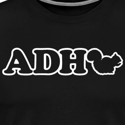 ADHD Squirrel - Men's Premium T-Shirt