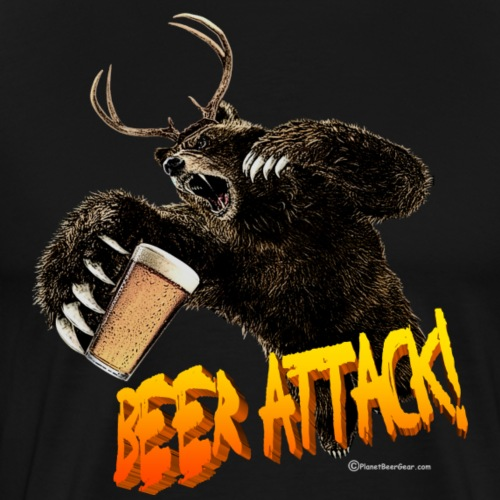 BEER ATTACK! - Men's Premium T-Shirt