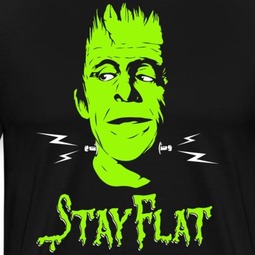 Herman Munster - Flat Earth - Men's Premium T-Shirt