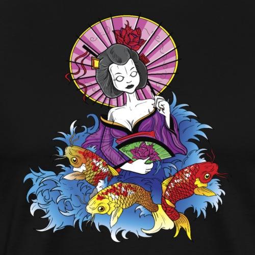 Geisha - Men's Premium T-Shirt