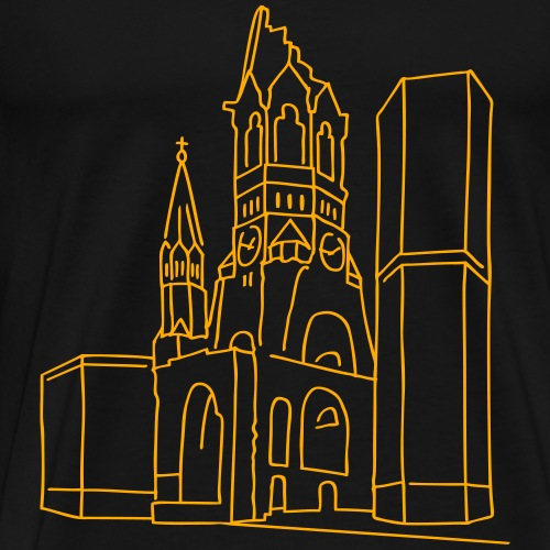 Memorial Church Berlin - Men's Premium T-Shirt