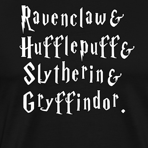 Wizard House Ampersand - Men's Premium T-Shirt