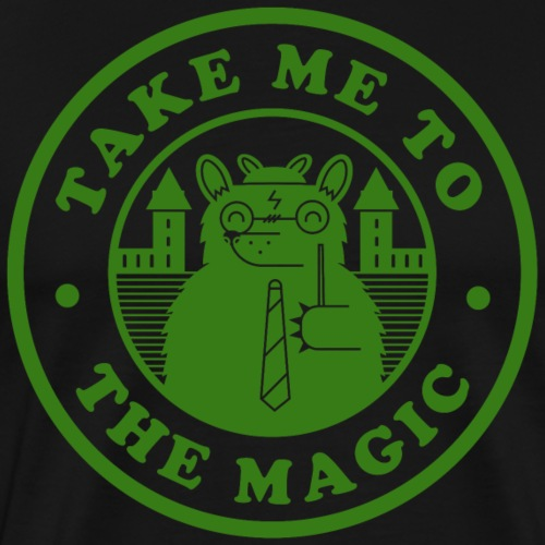 Take Me To The Magic Slith png - Men's Premium T-Shirt