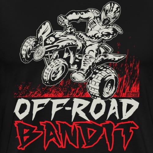 ATV Quad Off-Road Bandit - Men's Premium T-Shirt