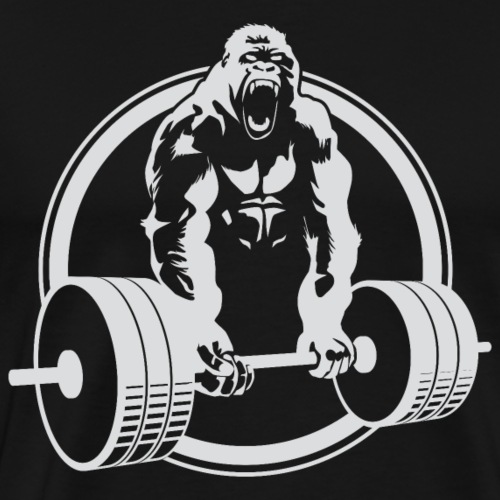 Gorilla Lifting Gym Fit - Men's Premium T-Shirt
