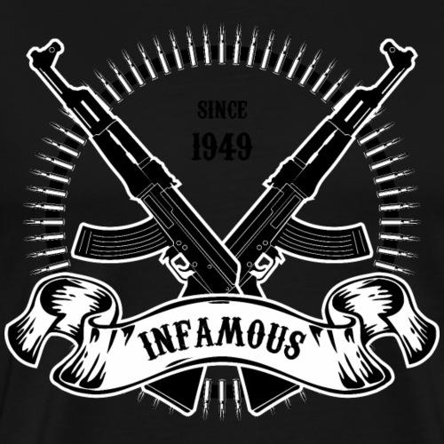 Infamous AK-47 - Men's Premium T-Shirt