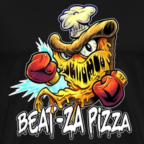Beat-Za Pizza [Variant] - Men's Premium T-Shirt
