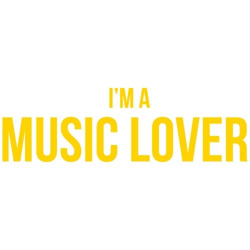 Music Lover small - Men's Premium T-Shirt